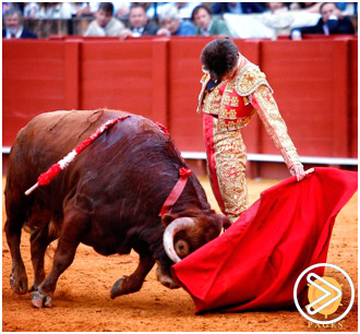 SEVILLA Detalles de Alejandro Mora, ovacionado