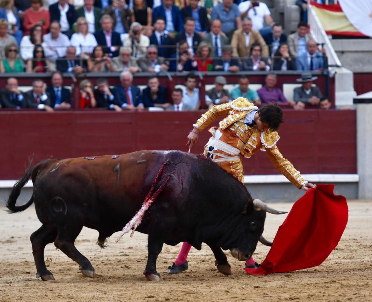 DECLARACIONES Tras abrir la Puerta Grande de Madrid
