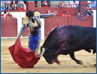 VIDEO Así fue la actuación del torero de La Puebla