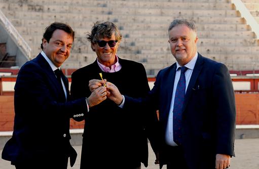 ENTREVISTA Manuel Ángel Fernández, director gerente de Asuntos Taurinos de la CAM