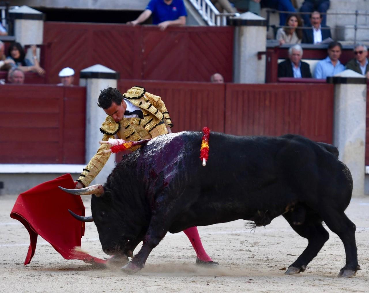 MADRID Se lidiaron toros de Valdefresno y Fraile Mazas (3º y 4º)