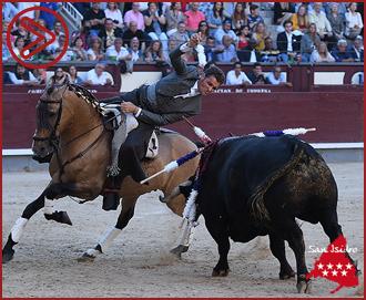 MADRID Cortaron una oreja cada uno