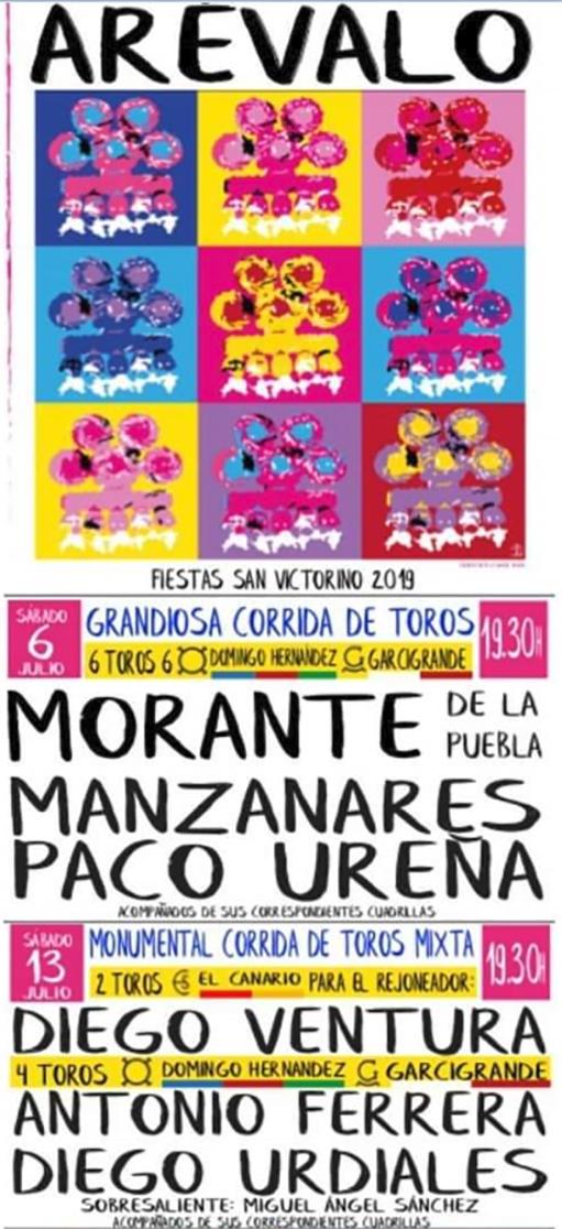 Fiestas de San Victorino en Arévalo 2019