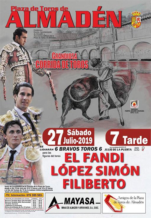 Festejo en Almadén 27 Julio