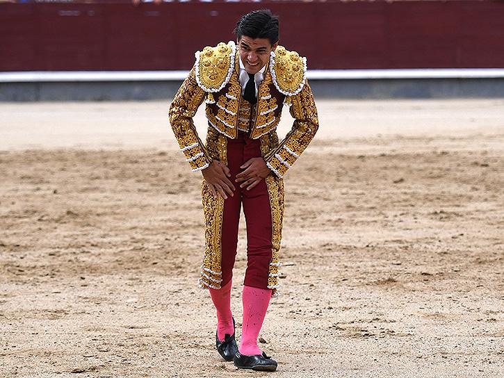 HERIDOS Fue herido este domingo en Las Ventas