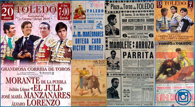 GALERÍA FOTOGRÁFICA de la historia del Corpus toledano, en carteles
