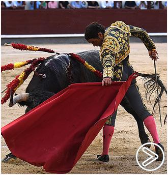 MADRID Seria actuación del torero de Guadalajara
