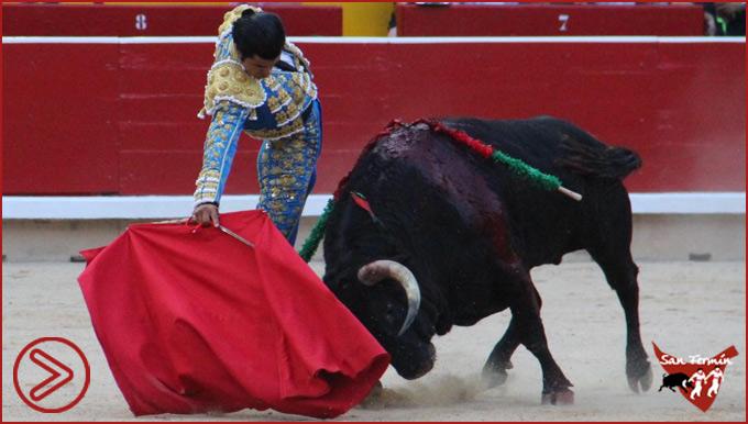 DECLARACIONES del primer triunfador de San Fermín