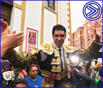 SANTANDER Dos orejas de un gran toro de Juan Pedro