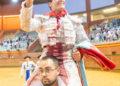 Arnedo. Javier Orozco, Daniel Menes, Montero.