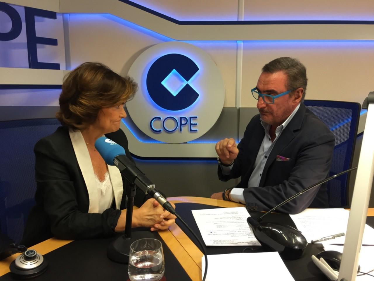 ENTREVISTA Con Carlos Herrera en COPE