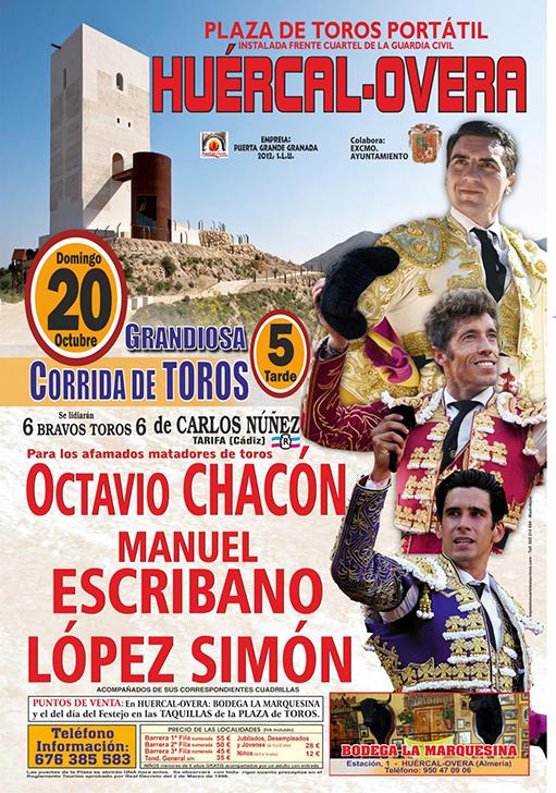 Cartel Huercal Olvera, El día 20 de Octubre