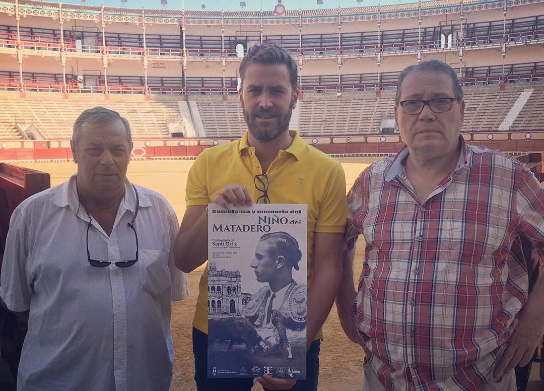 CONFERENCIA a cargo del escritor Santi Ortiz