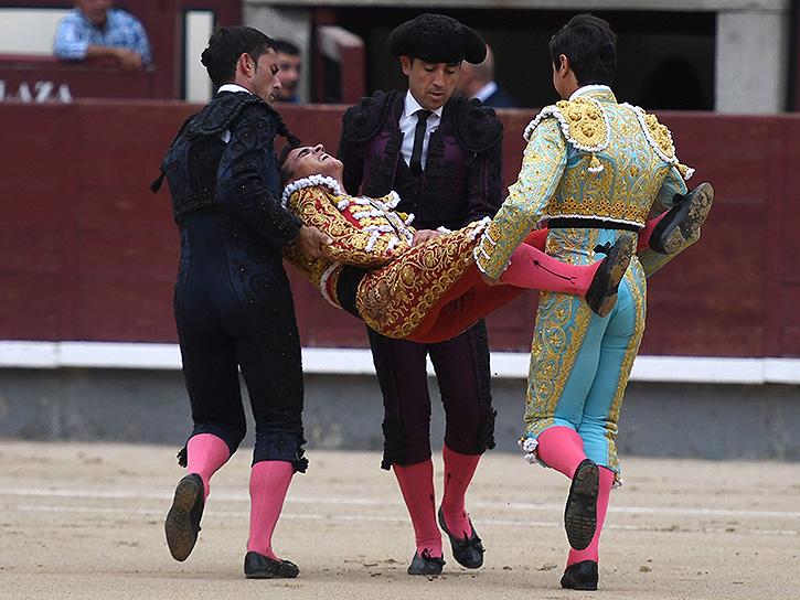 gonzalo Caballero cornada madrid