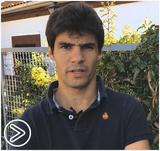 VÍDEO Pablo Aguado, ante su debut en Jaén