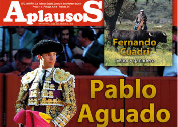 Pablo Aguado, portada de Aplausos