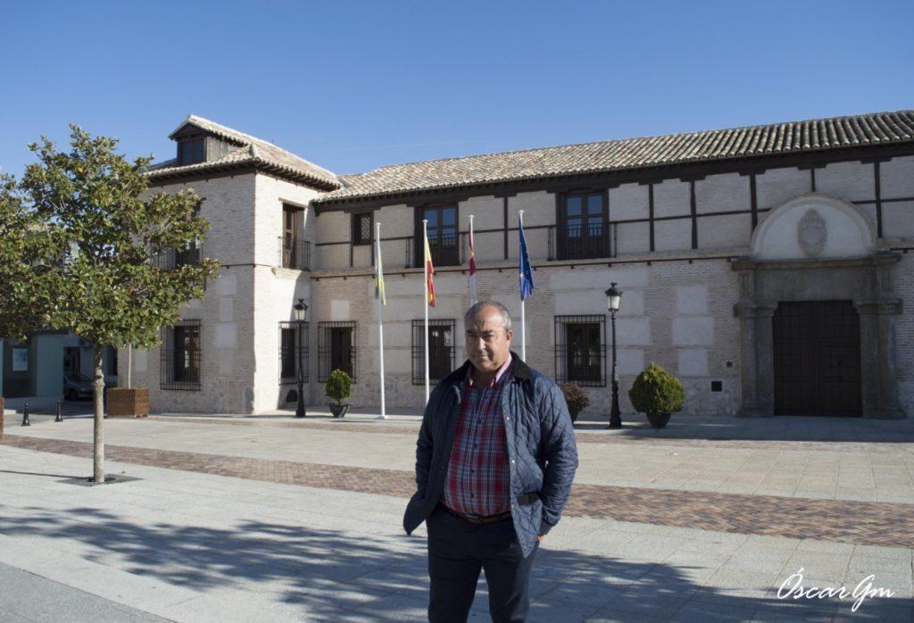 Jesús Hijosa, alcalde de Villaseca de la Sagra