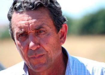Fernando Cuadri, en el campo