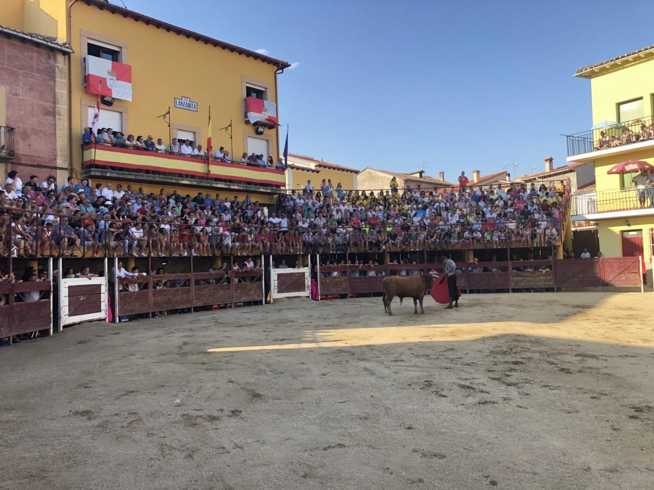 Plaza de toros de Lanzahíta (Ávila)