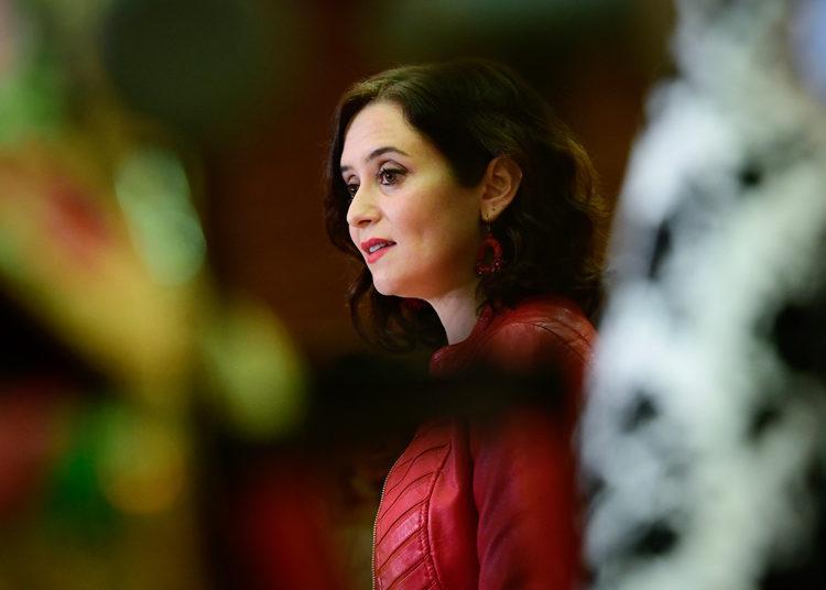 Isabel Díaz Ayuso, presidente de la Comunidad de Madrid