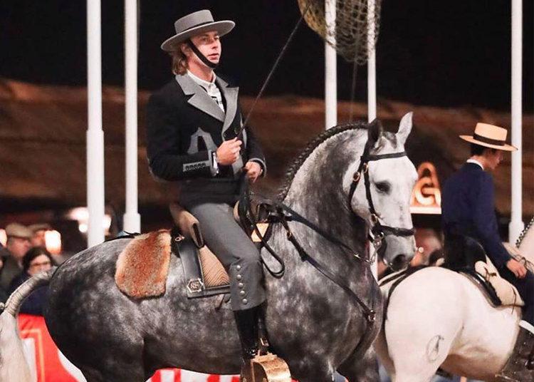 Rui Fernandes y el caballo H-Quiebro
