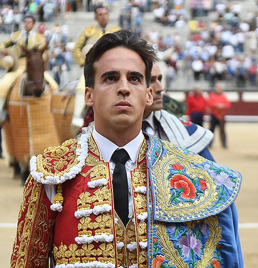 Gonzalo Caballero torero