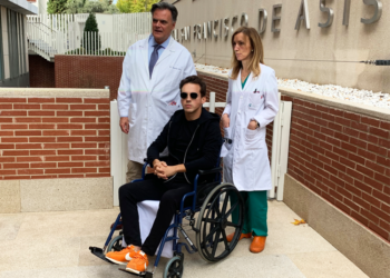 Gonzalo Caballero sale del hospital
