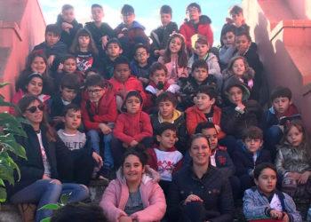 Ana Rita y los niños