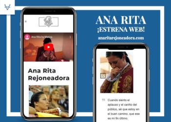 Ana Rita estrena Web