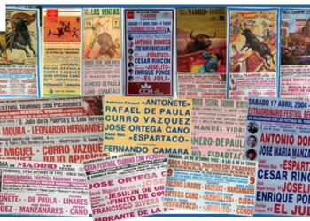 Carteles festivales Las Ventas