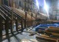 Construcción de la plaza de toros de Algemesí (Valencia)