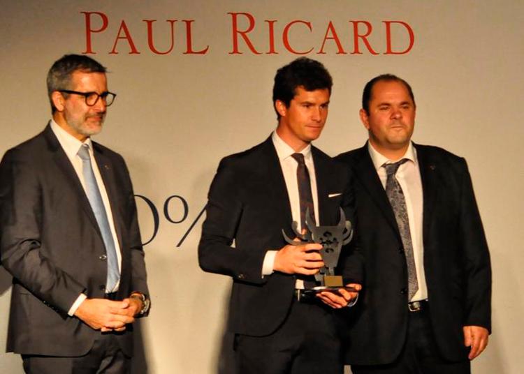Daniel Luque, premio Paul Ricard