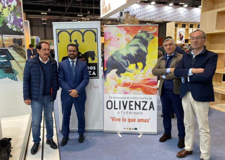 Presentación cartel Olivenza en FITUR 2020