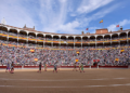 Paseíllo en la plaza de toros de Las Ventas