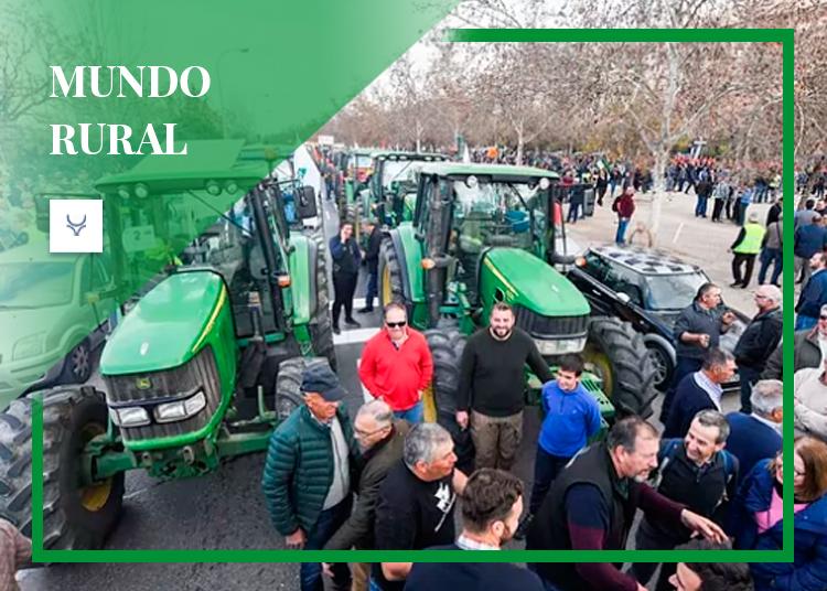 Protestas tractores mundo rural