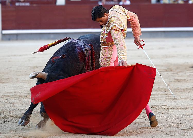 Paco Ureña, en Madrid
