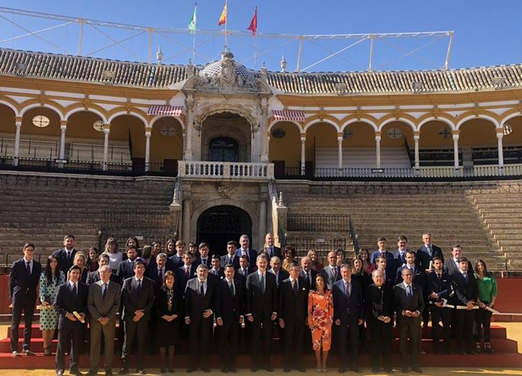 Felipe VI entrega los Premios Taurinos y Universitarios de la Maestranza