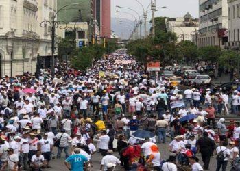 manifestacion Lima