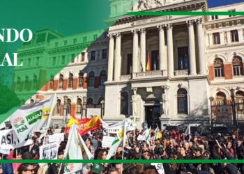 El mundo rural extremeño 'seguirá apretando' al Gobierno manifestándose ante la casa de Pablo Iglesias