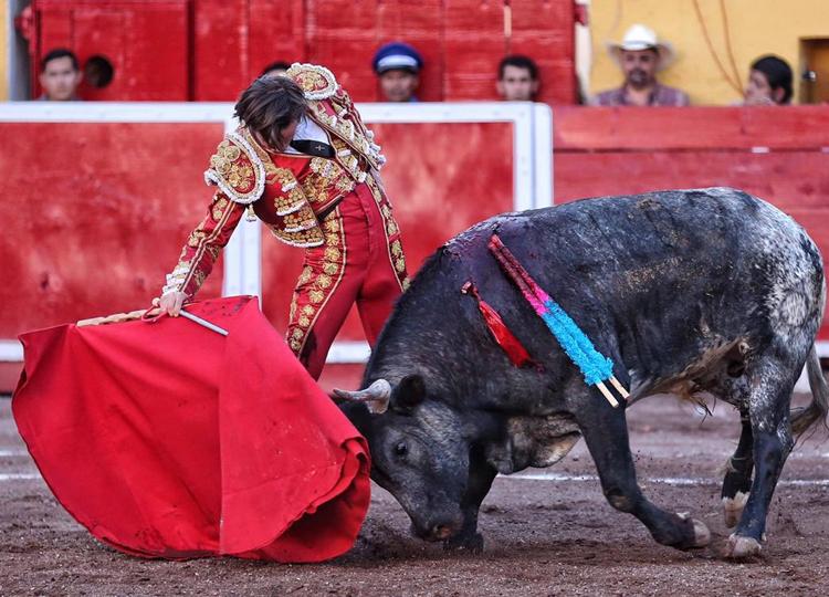 Arturo Gilio, en la plaza de toros de San Marcos de Aguascalientes