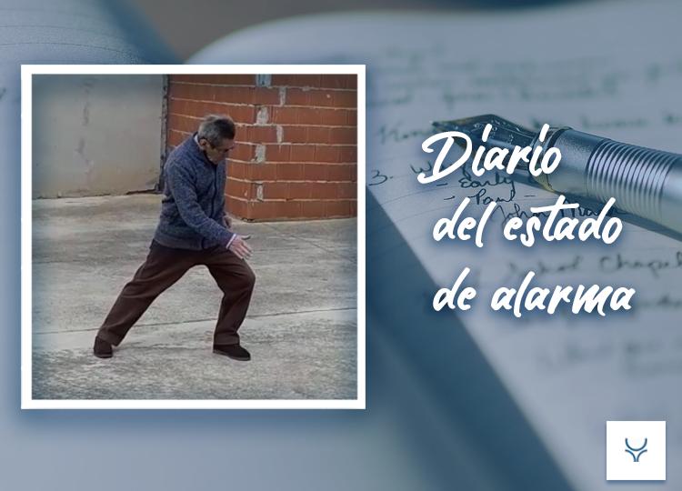 Diario del Estado de Alarma día 9 Un hombre susurra que es torero