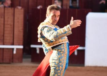 Enrique Ponce, en Olivenza
