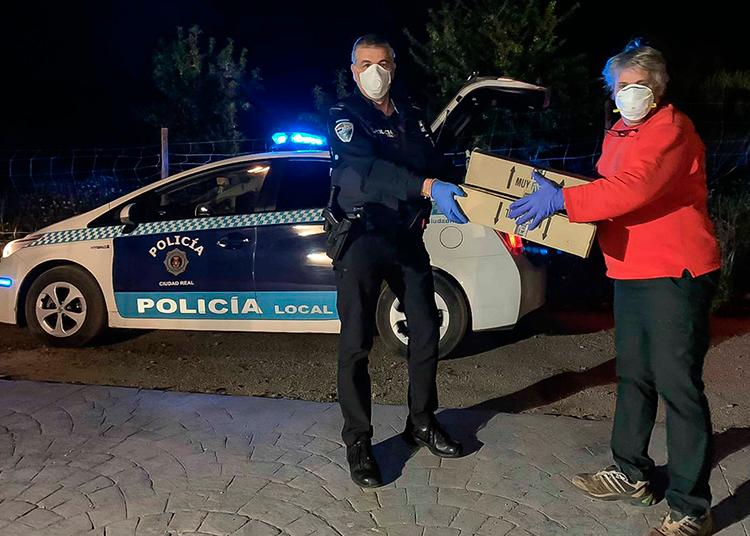 Lillo Ciudad Real, Policía Local