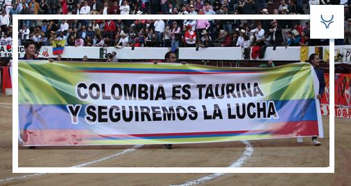 Bogota pancarta