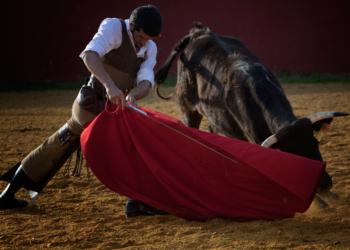 Emilio de Justo, en un tentadero | Foto: Maurice Berho