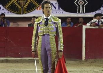 Diego Silveti y el indulto de 'Aroma de toro', de Fernando de la Mora en Aguascalientes