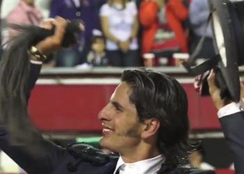 Emiliano Gamero y la faena de rabo en Aguascalientes