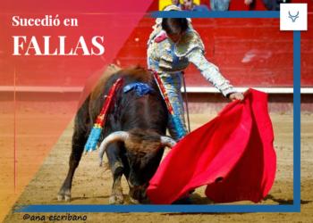 Roca Rey de novillero sin picadores Fallas 2014