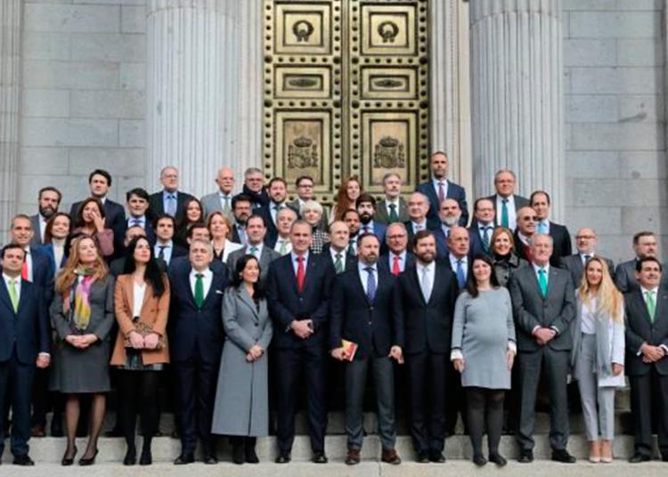 Vox, Congreso de los Diputados
