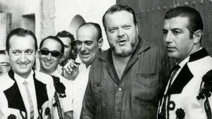 Julio Aparicio, Orson Wells, Antonio Órdoñez